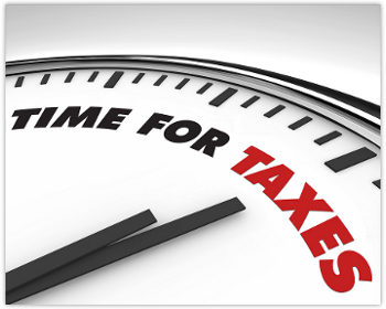 standard tax deadline date) falls on a Sunday. That would push the tax